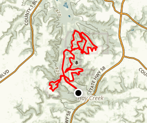 Hay Creek Full Loop  Map