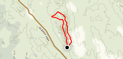 Mount Cooke Walk Alternate Route Map
