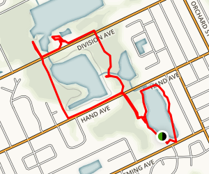Central Park Loop Map