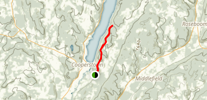 Vanyahres Trail [PRIVATE PROPERTY] Map