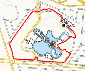 Lafreniere Park Loop Map
