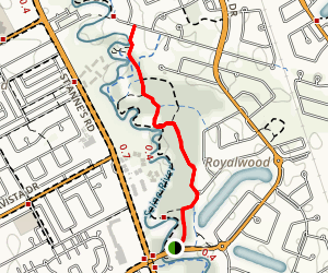 Seine River Greenway Map