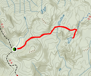 Salmon Lake Trail Map