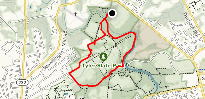 Tyler Creek State Park Map