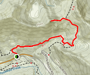 Davenport Hill  Map