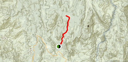 Hooker Meadow Trail Map