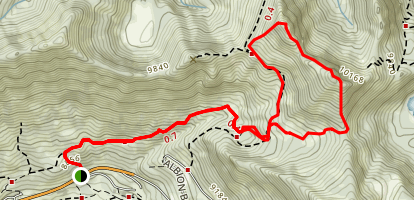 Alta-Brighton Trail Map