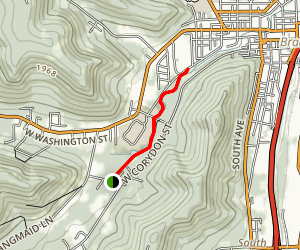 McDowell Community Trail Map
