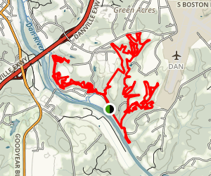 Anglers Ridge Full Loop  Map