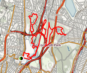 Van Cortlandt Park Trail Map