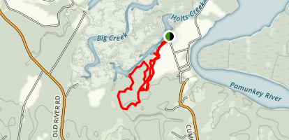 Cumberland Marsh Natural Area Preserve Trails Map