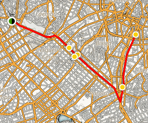 Avenida Paulista Tour Map