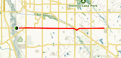 Old Cheney Road Trail Map