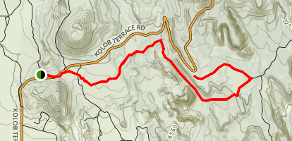 Wildcat Canyon Connector Trail Map