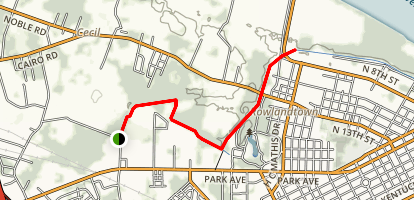 Greenway Trail Map