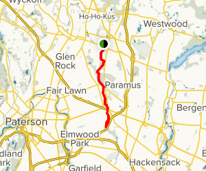 Saddle River Trail Map