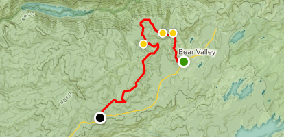 Corral Hollow OHV Map