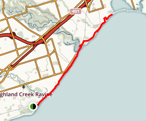 Frenchman's Bay - Waterfront Trail Map