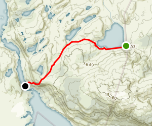 Lazo-Weber Trail Map