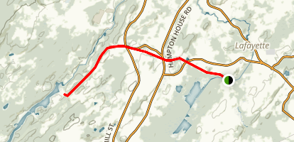 Sussex Branch: Warbasse Junction to Augusta Trail Map