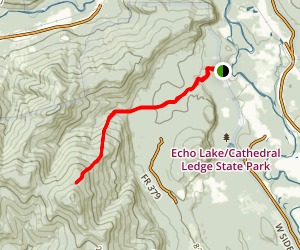 Moat Mountain Trail Map