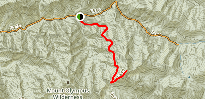 Bowman Fork to Gobblers Knob Trail Map