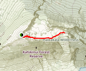 Keonehe'ehe'e Trail Map