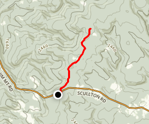 LHHT-Rt. 653 to Grindle Ridge Map