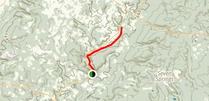Indian Creek Valley Trail Map