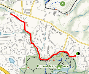 Raleigh Greenway Trail Map