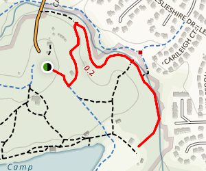 Secret Creek Trail Map