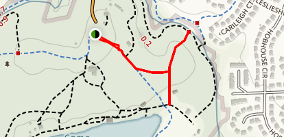 Pine Ridge Trail Map