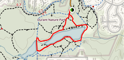 Lakeside Trail Loop Map
