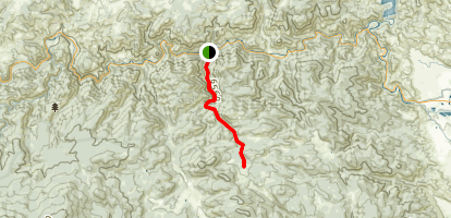 Youngs Gulch [CLOSED] Map
