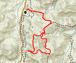 River View & Saddle Trail Loop Map