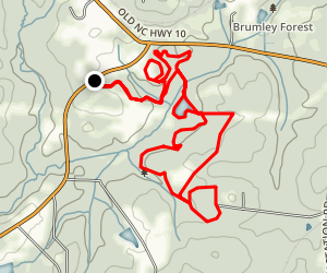 Springhouse Trail and Buckley Trail Loop Map