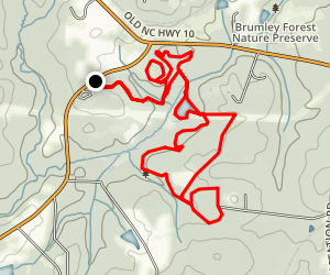Springhouse Trail and Buckeye Trail Loop Map