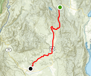 Weiser River Trail: Rubicon to Cambridge Map