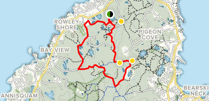 Blueberry Lane Trail Map