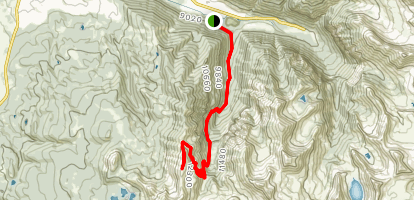 Bear Creek to Gold Hill Map
