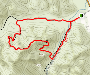 Towsley Canyon Short Loop  Map