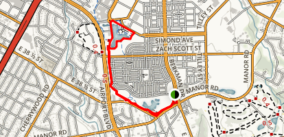 Mueller Park Trail Map