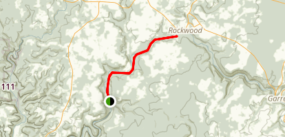 Allegheny Highlands Trail - Markleton to Rockwood Map