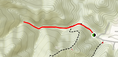 Fairway Falls Trail Map