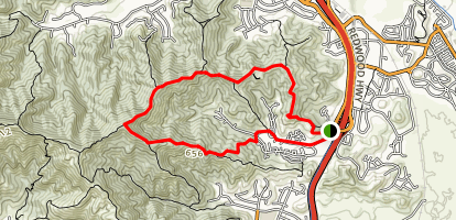 Loma Verde - Pacheco Valle Ridge Trails Map