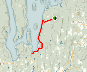 Quabbin Reservoir Map