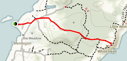 Whitehead Trail Map