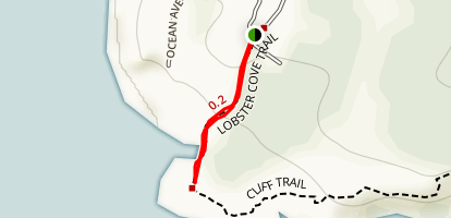 Lobster Cove Trail Map