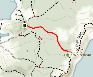 Cathedral Woods to Long Swamp Trail Map