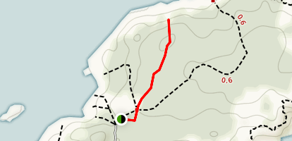 Pebble Beach Trail Map